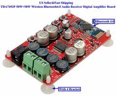 Chip:TDA7492P. 1 Pcs TDA7492P Bluetooth4.0 Audio Receiver Board. Type TDA7492P CSR4.0(C4A3). Measuring Transducer Sensor 3 pcs MFRC-522 RC522 RFID IC Card Inductive. Distance Measuring Transducer Sensor Kit US 20W Tesla Coil Kit For.   eBay!