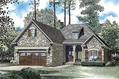 House Plan 62398 | Plan with 1711 Sq. Ft., 3 Bedrooms, 2 Bathrooms, 2 Car Garage at family home plans