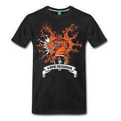 T Shirt, Die Babenberger, A wüde Volksmusik, schwarz, Drachenlogo