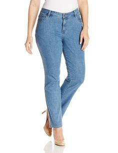Women's Plus-Size Classic Fit Monroe Straight Leg Jean - For Sale