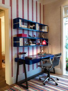 Projeto Fernanda Abs e Fred Benedetti quarto menino www.casaprontaquartos.com.br