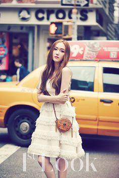 SNSD Jessica and f(x) Krystal - 1st Look Magazine Vol.70