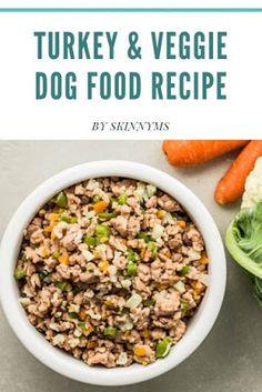Turkey & Veggie Dog Food Recipe Make Dog Food, Best Dog Food, Best Homemade Dog Food, Pet Food, Diabetic Dog Food, Vegan Dog Food, Dog Treat Recipes, Dog Food Recipes, Natural Food Recipes