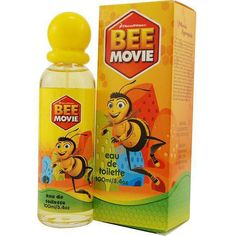 DreamWorks Bee Movie Men's 3.4-ounce Eau de Toilette Spray (Bee Edt Spray 3.4 oz For Men), Purple lavender, Size 3.1 - 4 Oz.