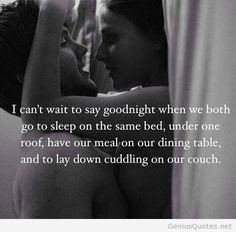 Goodnight love quote
