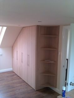 Design & Build Fitted Wardrobe (loft room) - Carpentry & Joinery job in Stockwell, South London - MyBuilder