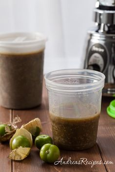 How to Make Tomatillo Puree from Andrea's Recipes