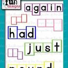 This would be awesome for Word Walls!!!!!  This graphic set will be a huge time saver!!! There are a total of 574 images!!!!  YAY!!!!!! ***This set now contain words inside ALL of the colore...
