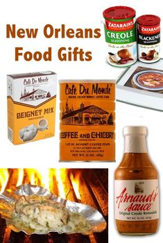 If there is one thing about New Orleans that sticks with you (both in your memories and on your hips), it's the food! Whether you live here and want to send NOLA themed food gifts to friends and family who live out of town, or whether you're looking back fondly on past visits to the Crescent City, these gift ideas are a fun way to cook up New Orleans flavor at home.