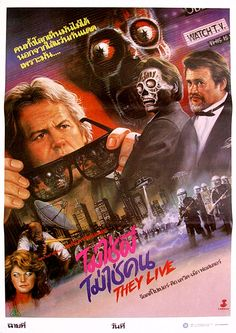 they live poster - Buscar con Google