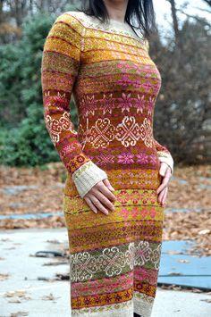 Modification Monday: Graduation Dress | knittedbliss.com