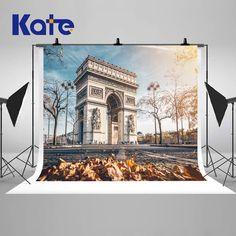 Paris Arc De Triomphe Building Photography Backdrops Autumn Scenery Photo Backgrounds for Wedding Studio Props by katehome2014 on Etsy https://www.etsy.com/ca/listing/198573595/paris-arc-de-triomphe-building