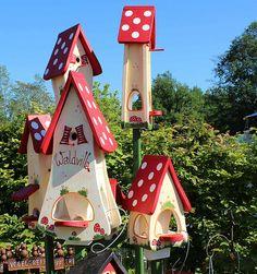 Vogelvilla Nistkasten Futterplatz Waldvilla | Flickr - Photo Sharing!