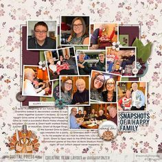 Thanksgiving The Digital Press: Anita Designs: Gratitude  Anita Designs & Soco: About {Family & Home Templates}