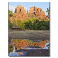 Red Rock Crossing,Sedona postcard