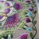 Zen Garden by Margaret Solomon Gunn.  WOW.  I'm going nuts over this quilt.
