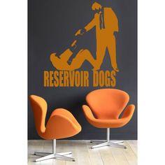 vinilo adhesivo de la película reservoir dogs,