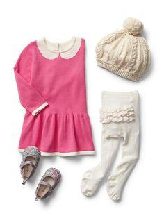Little Girls Floral Cardigan Navy Dress Gap Baby Gap Pinterest