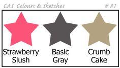 CAS - Colours and Sketches Blog: Challenge #81 - Colours
