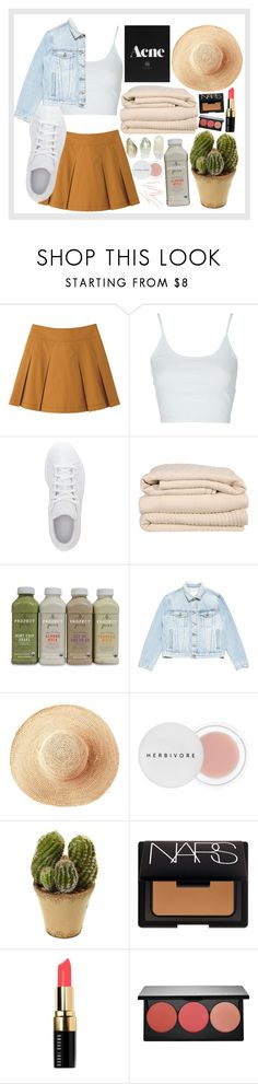 """""""In The Clouds"""" by yeslove ❤ liked on Polyvore featuring Uniqlo, Topshop, adidas, Brahms Mount, Frame, Toast, Herbivore, Nearly Natural, NARS Cosmetics and Bobbi Brown Cosmetics"""