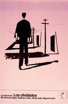 LOS OLVIDADOS (Dir. Luis Buñuel, 1950) German poster