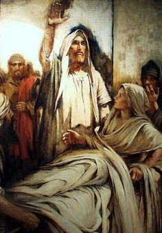 """""""I Say Unto Thee, Arise"""" by Walter Rane"""