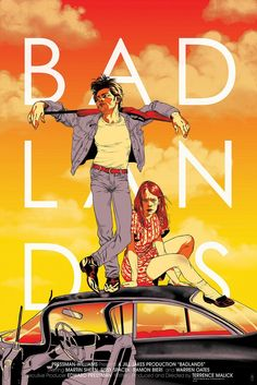 #BadLands #Malick #Mondo by Tomer Hanuka