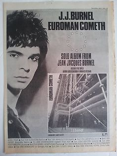 JJ Burnel Stranglers Euroman Cometh 1979 Trade/Press Advert Poster Size in Clippings/ Cuttings/ Articles | eBay