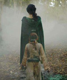 ~ Arya Stark, walking in Lyana's footsteps