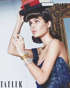 Summer Fashion Store Lily Jean Harvey Looks Regal in Gems for Tatler.Summer Fashion Store Lily Jean Harvey Looks Regal in Gems for Tatler Fashion Tips For Women, Latest Fashion Trends, Joan Jett, My Fair Lady, Beauty Shoot, Christy Turlington, Royal Fashion, Vintage Fashion, Indie Fashion
