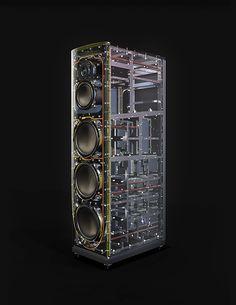 Magico Q5 speaker (inside)