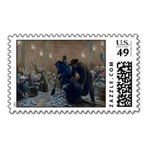 Sorting Herring Stamp