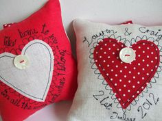 Wedding Cushion Keepsakes £35.00