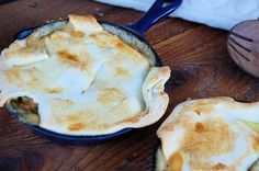 Chicken Pot Pie with Cream Cheese Pie Crust