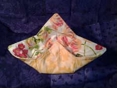 Microwave Bowl Cozy Yellow Flower Hot Pad Trivet Textile Linens Kitchen  Pot Holder Hot Pad by CaliSistersCreate on Etsy