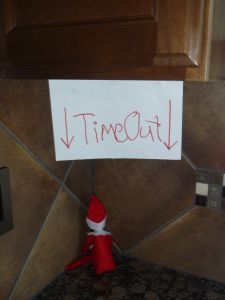 Elf on the Shelf - Timeout