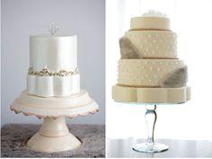 ► Pasteles de boda con accesorios. #pasteles #bodas