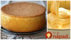 Dokonalý korpus, posúvam ďalej! Czech Recipes, Ethnic Recipes, Cornbread, A Table, Ham, Cake Recipes, Deserts, Food And Drink, Pudding
