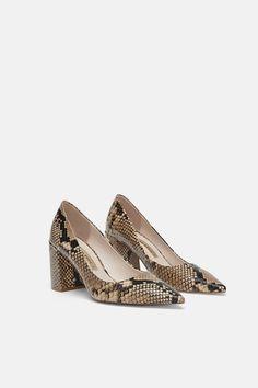 2a450e67 Las 9 mejores imágenes de ZAPATOS ZARA | Shoe boots, Shoes high ...