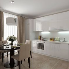 Kitchen design modern white breakfast nooks 27 ideas for 2019 New Kitchen, Kitchen Decor, Luxury Modern Homes, White Kitchen Backsplash, Small Apartment Kitchen, Kitchen Colour Schemes, Modern House Plans, Modern Kitchen Design, Small Apartments