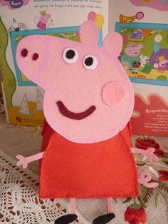 Peppa Pig favor bag PDF patterns