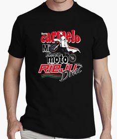 Camiseta MI PRIMERA MOTO Nº18(LB)