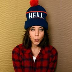Aubrey Plaza. I was scrolling through pinterest and had to look twice since i thought i saw myself. gotta replicate this photo!