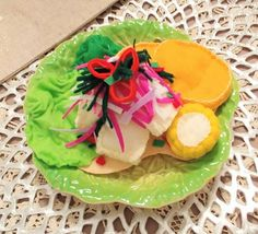 Your place to buy and sell all things handmade Peruvian Ceviche, Lomo Saltado, Ceviche Recipe, Peruvian Recipes, Felt Food, Play Food, Handmade Felt, Dishes, Ethnic Recipes