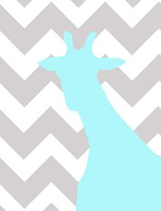 Free Printables: Giraffe Head