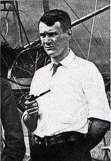 Lieutenant Thomas Selfridge, first man to die in an airplane accident, passenger with Orville Wright, 1908