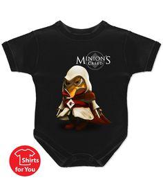 Minions Creed Baby Onesie