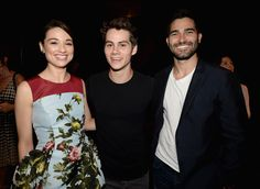 Tyler Hoechlin and Dylan O'Brien - 2013 Young Hollywood Awards Presented By Crest 3D White And SodaStream / The CW Network - Backstage