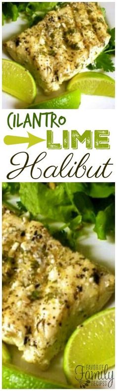 This Cilantro Lime Halibut is so easy to make and doesn't taste fishy at all. Just fresh, flaky, and fantastic! You will love the fresh flavor combinations! via @favfamilyrecipz