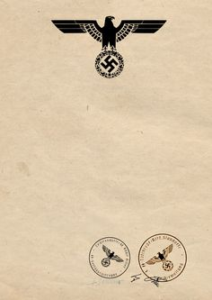 Nazi Wehrmacht Blank Document A4 Signed by Hitler by obergruppen on DeviantArt